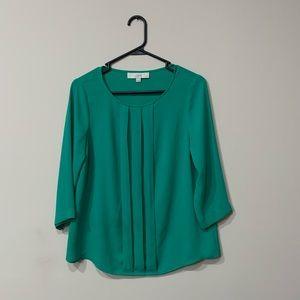 Loft green blouse